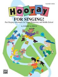 Hooray For Singing  Book PDF