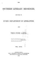 Southern Literary Messenger PDF