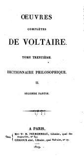 Oeuvres complètes de Voltaire: Volume30,Partie2