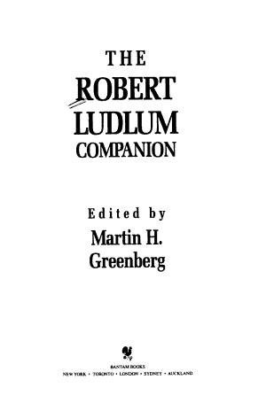 The Robert Ludlum Companion