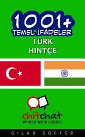 1001+ Temel İfadeler Türk - Hintçe