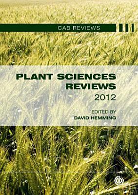 Plant Sciences Reviews 2012