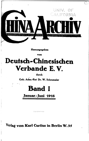 Archiv fur den Fernen Osten PDF