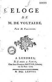 Eloge de M. de Voltaire
