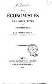 Les économistes, les socialistes et le christianisme