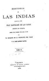 Historia de las Indias: Volumen 4