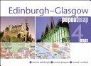 Edinburgh and Glasgow Popout Map
