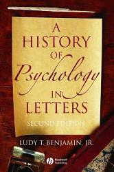 A History Of Psychology In Letters Book PDF