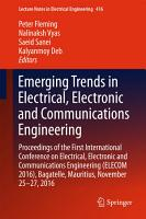 Emerging Trends in Electrical  Electronic and Communications Engineering PDF