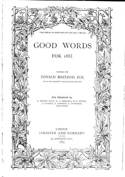 Download Good Words and Sunday Magazine Book