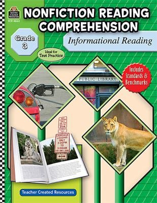 Nonfiction Reading Comprehension  Informational Reading  Grade 3 PDF