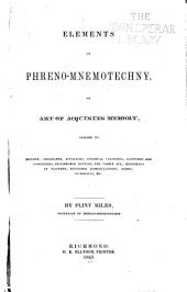 Elements of Phreno-mnemotechny, Or, Art of Acquiring Memory