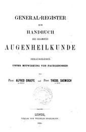 Handbuch der gesammten Augenheilkunde: Band 4;Band 7