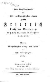 Ueber die Merkwürdigkeiten der Comburger Bibliothek: Entstehung und Geschichte dieser Bibliothek, Band 2