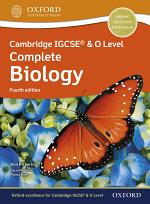 Cambridge IGCSE® & O Level Complete Biology: Student Book Fourth Edition