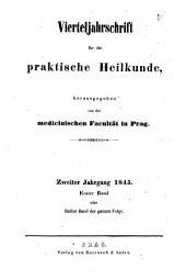 Vierteljahrschrift für die praktische Heilkunde: Bände 1-2
