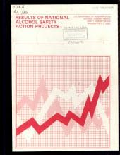 Results of National Alcohol Safety Action Projects