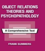 Object Relations Theories and Psychopathology PDF
