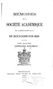 Cartulaires boulonnais: Volume1
