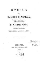 Otello, o, Il moro di Venezia: tragedia