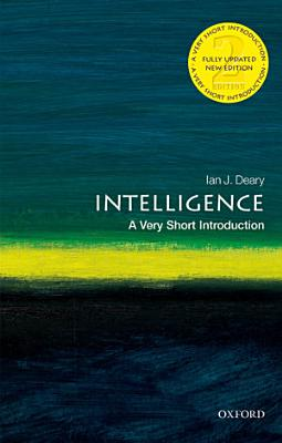 Intelligence  a Very Short Introduction PDF