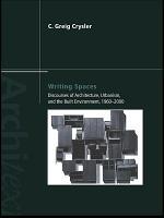 Writing Spaces PDF