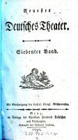 Neuestes Deutsches Theater PDF