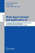 Multi-Agent Systems and Applications IV