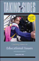 Taking Sides  Clashing Views on Educational Issues  Expanded PDF