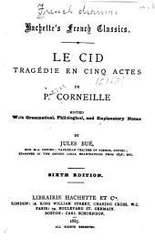 Le Cid-Horace: Volume1