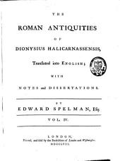 The Roman Antiquities: Volume 4