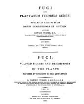Fuci, Sive, Plantarum Fucorum Generi a Botanicis Ascriptarum Icones Descriptiones Et Historia: Volume 2