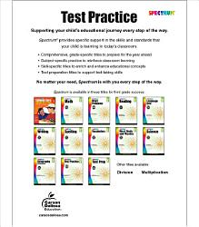 Spectrum Test Practice  Grade 3 PDF