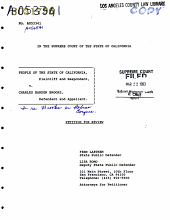 California. Supreme Court. Records and Briefs: S031796, Petition for Review