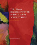 The Human Resource Function in Educational Administration PDF