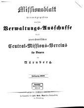 Missionsblatt: 1850
