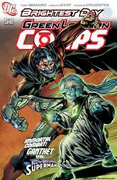 Green Lantern Corps (2006-) #52