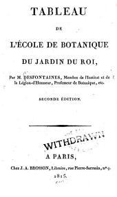 Tableau de l'école de botanique du Jardin du roi