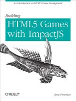 Building HTML5 Games with ImpactJS PDF