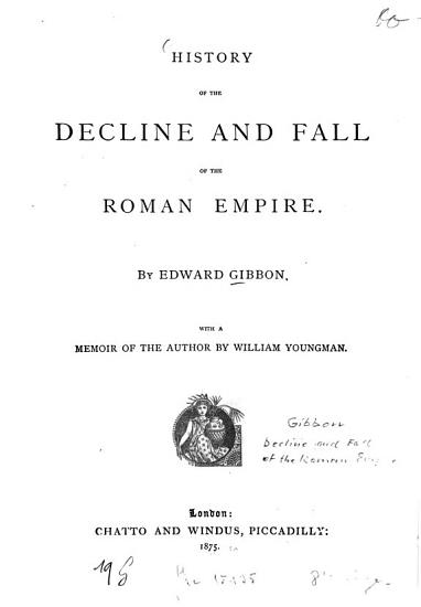 History of the decline and fall of the Roman Empire0 PDF