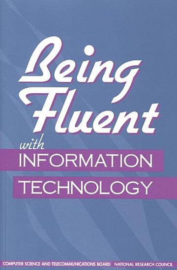Being Fluent with Information Technology PDF