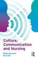 Culture  Communication and Nursing PDF