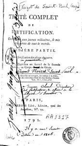Traité complet de fortification: Volume1