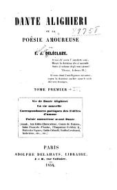 Dante Alighieri: ou, La poésie amoureuse, Volume2