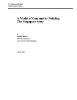 Model of Community Policing PDF