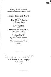 Essays, Civil and Moral: And The New Atlantis