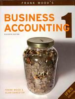 Frank Wood s Business Accounting 1 PDF