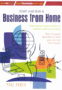 Start and Run a Business from Home PDF