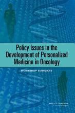 Policy Issues in the Development of Personalized Medicine in Oncology PDF