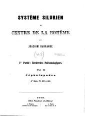 Systême Silurien Du Centre de la Bohême: Ire Partie: Recherches Paléontologiques, Volume 2, Part 4
